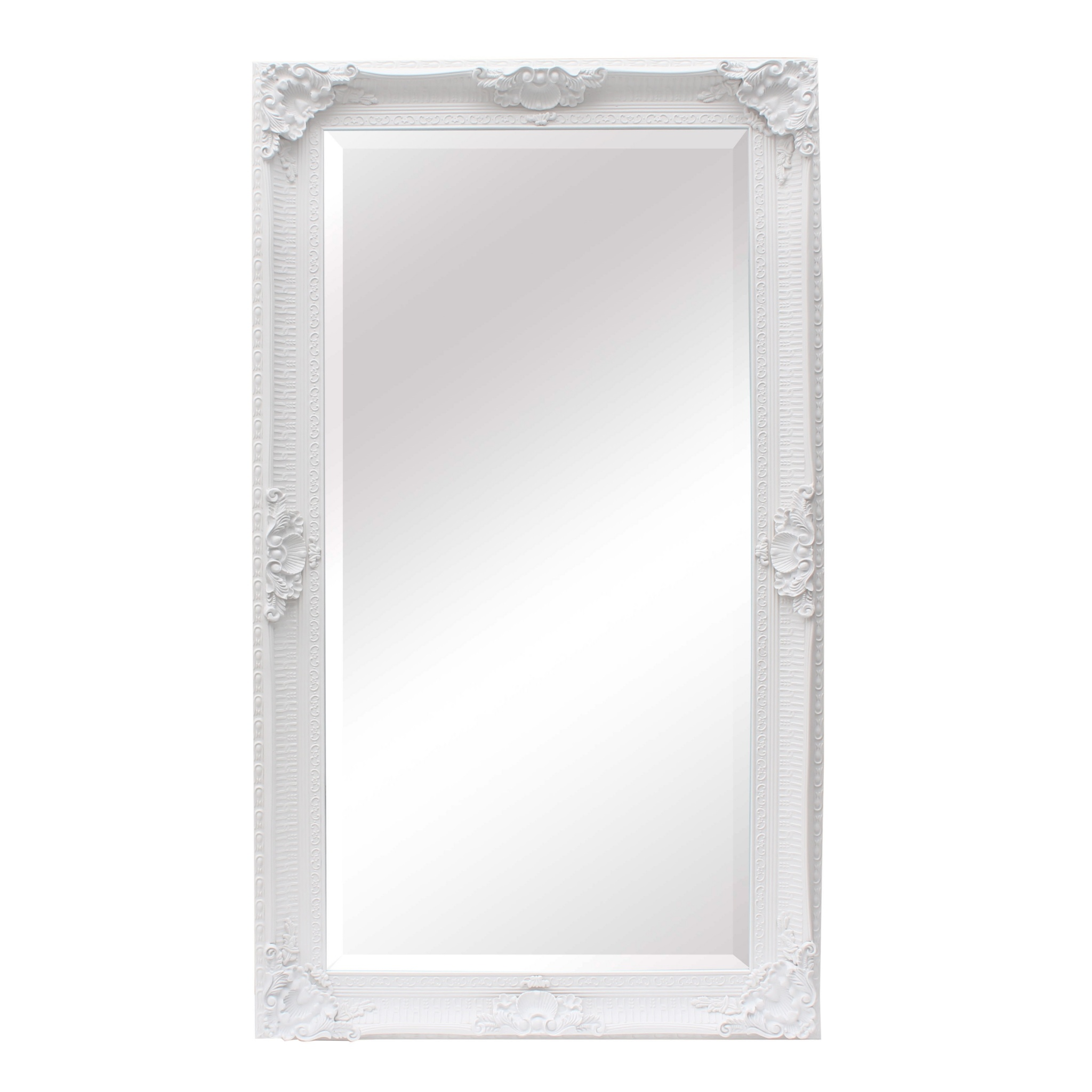 Francoise Extra Large Ornate White Mirror Furniture La