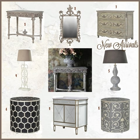 Distressed French Furniture