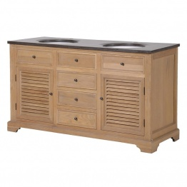 Double Sink Unit   - La Maison Chic Furniture Company Online