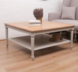 Aurelia Square Coffee Table   - La Maison Chic Furniture Company Online