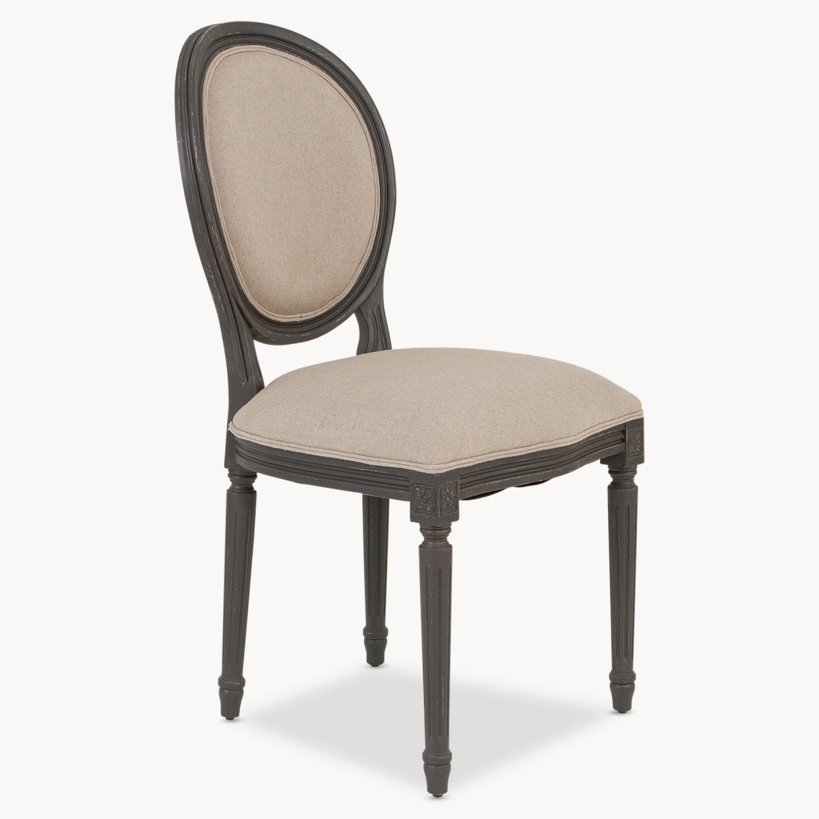 Rubber Wood Dining Chair Furniture La Maison Chic Luxury