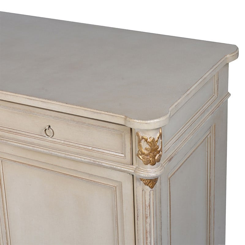 Justina Painted Sideboard Cabinet Furniture La Maison Chic Luxury Interiors