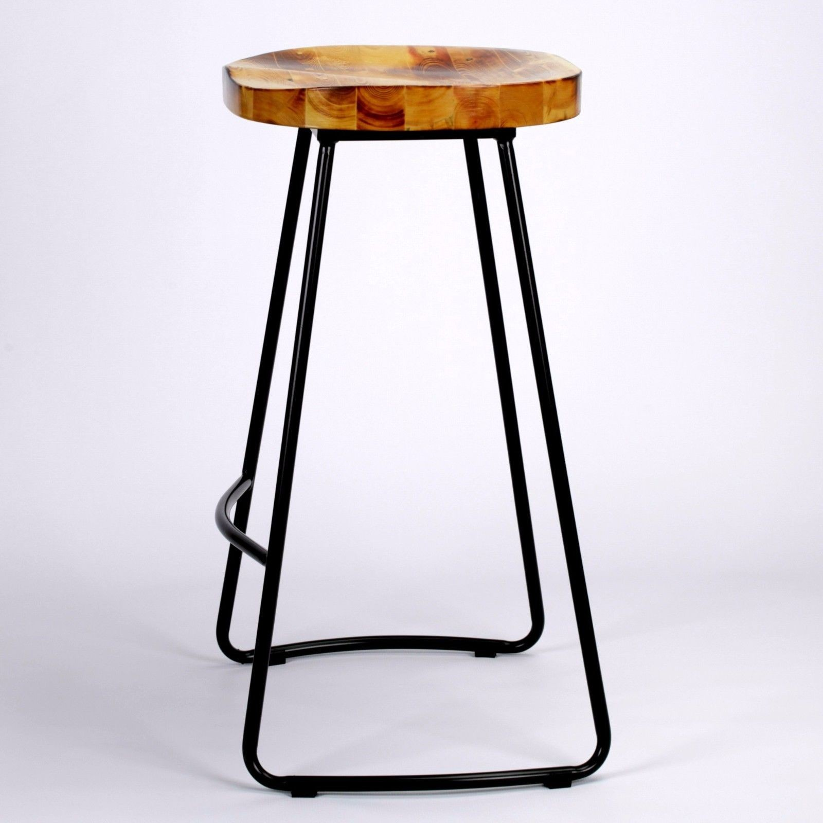 Industrial Tractor Seat Style Metal Bar Stool Furniture