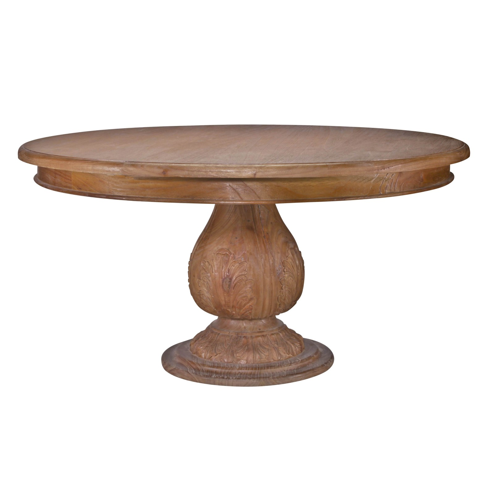 Dining Room Tables Bench Seating Acorn Round Pedestal Large Dining Table 150 Cm Great