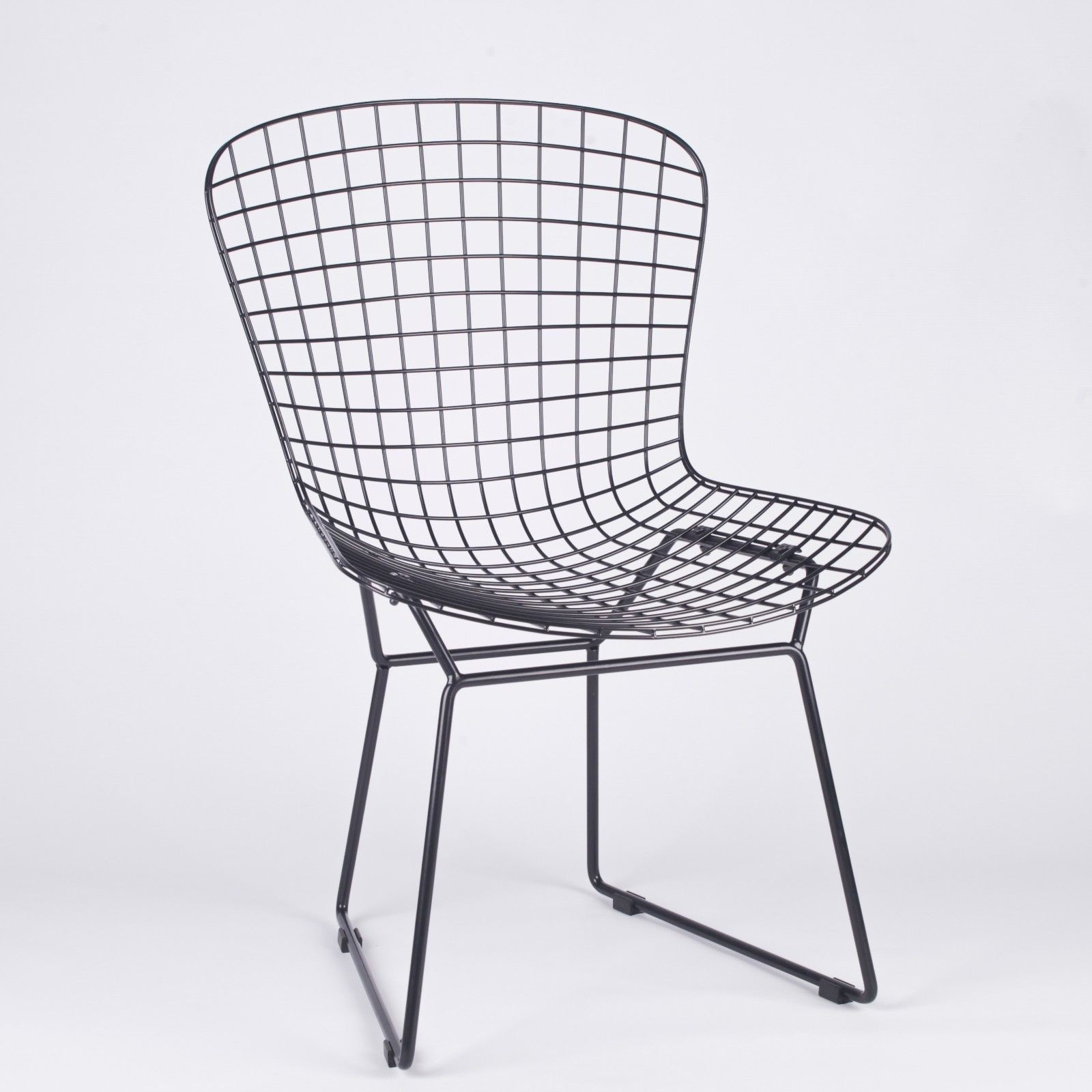Black Mesh Wire Dining Chair Furniture La Maison Chic