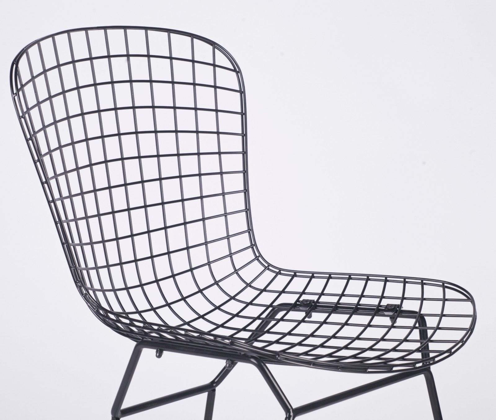 black mesh wire dining chair furniture