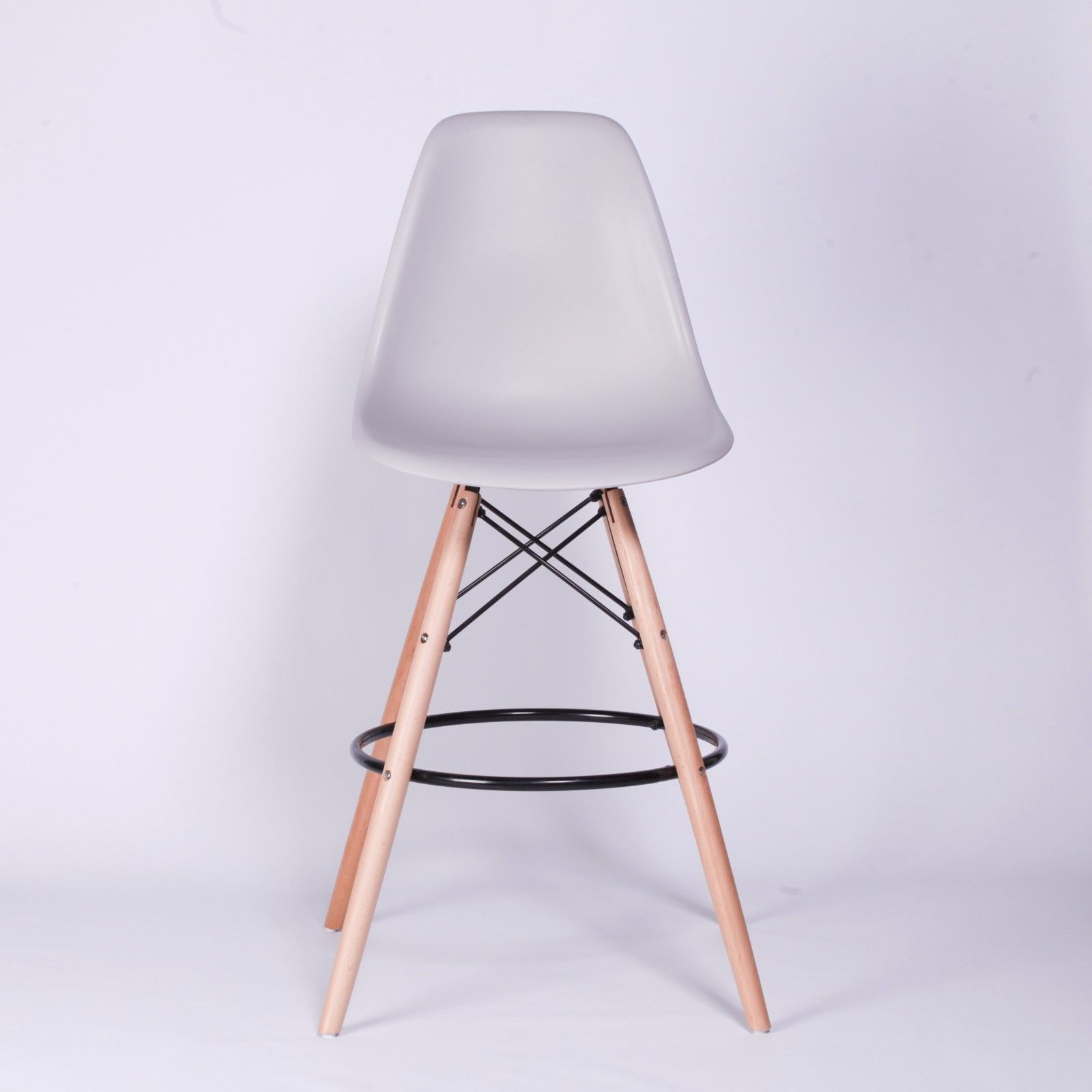 Scandi eiffel inspired grey bar stool simply and luxury for Scandi stuhl