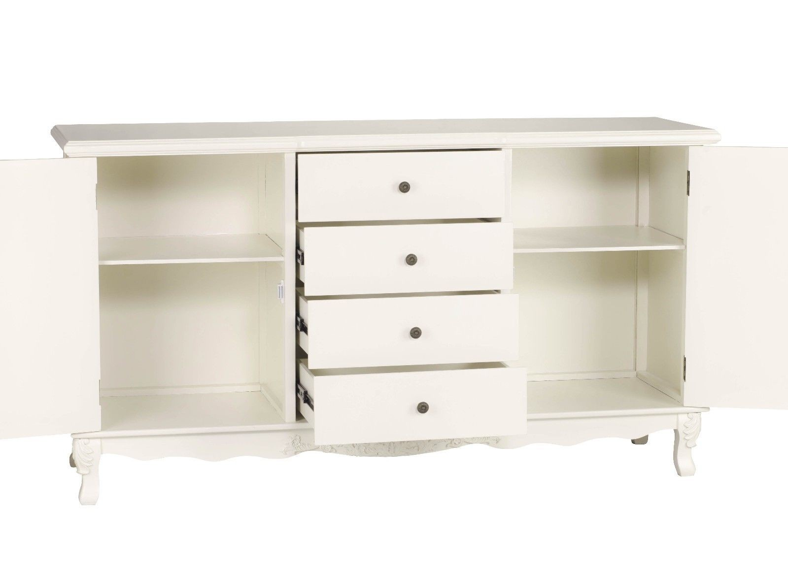 French Style Louis Cream Sideboard Furniture La Maison Chic Luxury Interiors