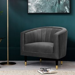 Velvet Armchair UK